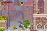 Disney's Magical Quest 3 starring Mickey & Donald Game Boy Advance Spin enemies at other enemies