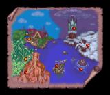 Disney's Magical Quest 3 starring Mickey & Donald SNES Map