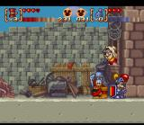 Disney's Magical Quest 3 starring Mickey & Donald SNES Donald & Mickey receives their sets of armor from the Blacksmith couple for having beaten the giant turkey.