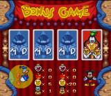 Disney's Magical Quest 3 starring Mickey & Donald SNES Select one of four cards and you will get a special prize (so long as it's not the King Pete card!)
