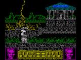 Altered Beast ZX Spectrum The lightning from above resurrects you from your eternal slumber