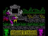 Altered Beast ZX Spectrum These zombies come to bits easy