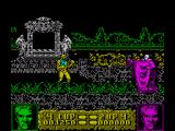 Altered Beast ZX Spectrum Your not powerful enough to face this boss