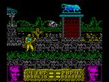 Altered Beast ZX Spectrum When you kill a white beast you get a power up