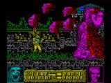 Altered Beast ZX Spectrum The first boss throws clones of his head at you which need to be avoided