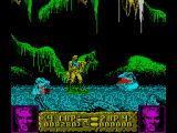 Altered Beast ZX Spectrum Weird blob type creatures live in the swamp
