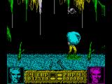 Altered Beast ZX Spectrum The blobs can jump on your head and need to be shaken off with left and right