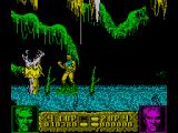 Altered Beast ZX Spectrum Snakes appear and fly vertically up or down the screen