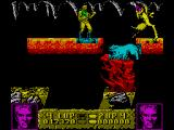 Altered Beast ZX Spectrum The weird ant creatures live in the cave
