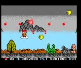 Cloud Master MSX An armed pig and more powerups