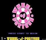 Wheel of Fortune NES Title Screen