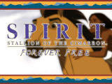 Spirit: Stallion of the Cimarron - Forever Free Windows Title Screen