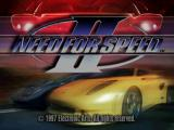 Need for Speed II PlayStation Title screen.