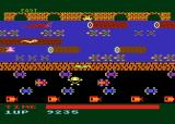Frogger Atari 8-bit My frog got squished crossing the road (Parker cartridge version)