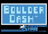 Boulder Dash Atari 8-bit Title screen