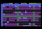 Boulder Dash Atari 8-bit Sometimes the cave becomes filled with static to confuse you
