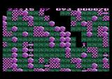 Boulder Dash Atari 8-bit There's plenty of boulders to dodge here