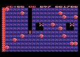 Boulder Dash Atari 8-bit Crush these butterflies to turn them into diamonds