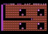 Boulder Dash Atari 8-bit Those flashing boxes guard the diamonds