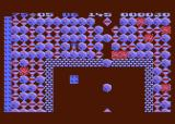 Boulder Dash Atari 8-bit Caught in a boulder avalanche!