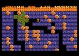 Boulder Dash Atari 8-bit The slime isn't deadly, but grows quickly and takes up space