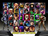 Mortal Kombat Trilogy PlayStation Selecting the kombatants.