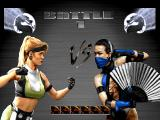Mortal Kombat Trilogy PlayStation VS screen.