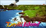 Links: Fantasy Course - Devils Island DOS splash screen - Links 386 SVGA