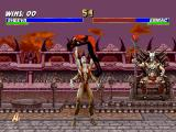 Mortal Kombat Trilogy PlayStation Using a little portion of her Shokan power, Sheeva attacks Ermac with the grabbing command.