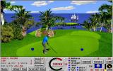 Links: Fantasy Course - Devils Island DOS Island green hole 14 - Links 386 SVGA