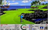 Links: Fantasy Course - Devils Island DOS hole 14 - Links 386 SVGA