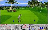 Links: Fantasy Course - Devils Island DOS hole 17 - Links 386 SVGA