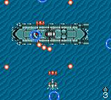 GG Aleste Game Gear The mid-level boss is a submarine