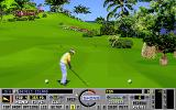 Links: Fantasy Course - Devils Island DOS hole 3 - Links VGA