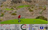 Links: Championship Course - Bighorn DOS hole 10 - Links 386 SVGA