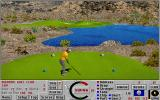 Links: Championship Course - Bighorn DOS hole 17 - Links 386 SVGA