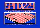 Spindizzy Atari 8-bit Title Screen