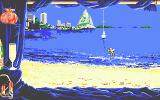 Emmanuelle: A Game of Eroticism Atari ST On the beach