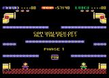 Mario Bros. Atari 8-bit Two players; can you kick off all of the pests?