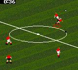FIFA Soccer 96 Game Gear Air battles, 8-bit style