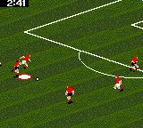 FIFA Soccer 96 Game Gear about to lose the ball...