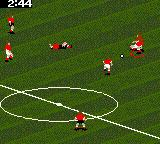 FIFA Soccer 96 Game Gear A badly timed tackle...