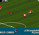 FIFA Soccer 96 Game Gear ... ends in a red card