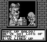 Disney's TaleSpin Game Boy Opening story