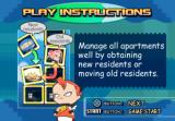 One Piece Mansion PlayStation Instructions on how to move around residents.