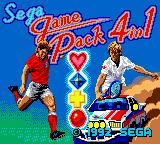 Sega Game Pack 4in1 Game Gear Title screen