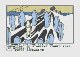 Hi-Res Adventure #6: The Dark Crystal Atari 8-bit Looks like I've found stonehenge...