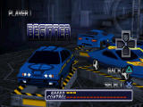 San Francisco Rush: Extreme Racing PlayStation Choosing the car type.