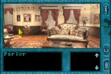 Nancy Drew: Message in a Haunted Mansion Game Boy Advance The Parlor