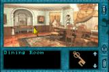 Nancy Drew: Message in a Haunted Mansion Game Boy Advance The Dining Room